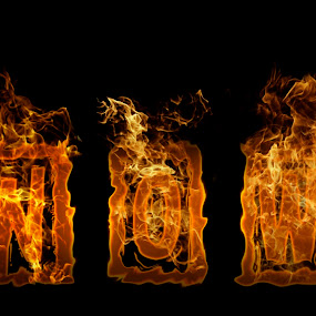 now by Dietmar Kuhn - Typography Words ( abstract, orange, surreal, fire, shapes,  )