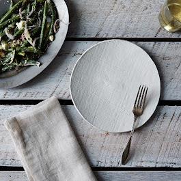 Handmade Porcelain Salad Plate