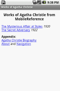 Agatha Christie. 2 novels. - screenshot thumbnail