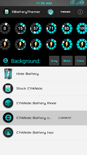 XPOSED Battery CYANide one