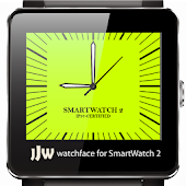 Square Clock1 for SmartWatch 2
