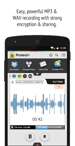 Protect+ Voice Recorder Pro