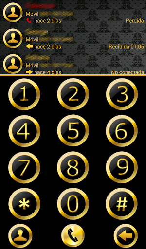 THEME BLACK GOLD 2 FR EXDIALER