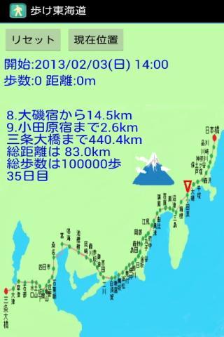 歩け東海道