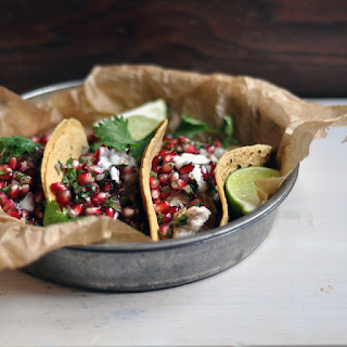 Fish Tacos with Pomegranate Salsa Recipe