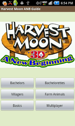 Harvest Moon ANB Guide