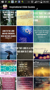 Inspirational Bible Quotes screenshot
