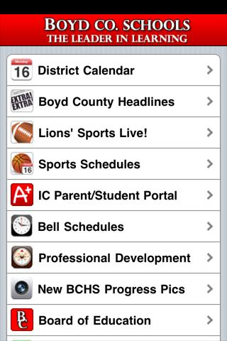 Boyd County Schools - screenshot
