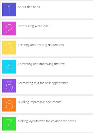 Learn Word 2013 Tutorials