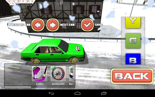 Snowy Car Modified 3D