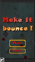 Screenshot of Make it bounce!