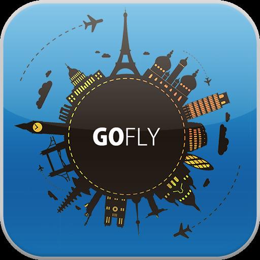 GOFLY - 机票搜索引擎 特价机票, LOGO-APP點子