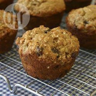 Low Fat Banana Nut Muffins.