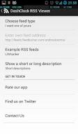 Screenshot of DashClock RSS Viewer Extension