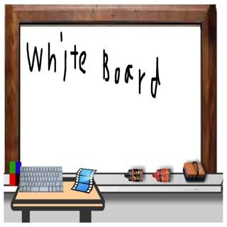 WhiteBoard with web camera