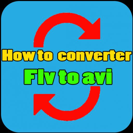 How to converter Flv to avi 書籍 App LOGO-APP試玩