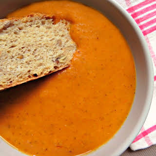Creamy Roasted Tomato Soup.