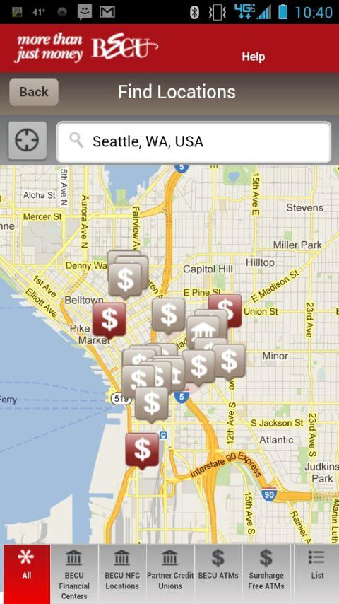 BECU Mobile Banking - screenshot