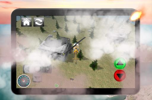 ヘリコプターの救助任務