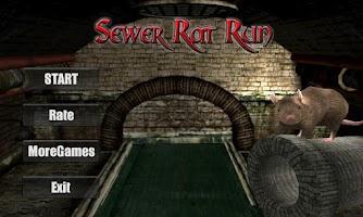 Screenshot of Sewer Rat Run! 3D