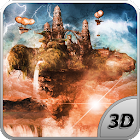 Fly Island Pro 3D LWP icon