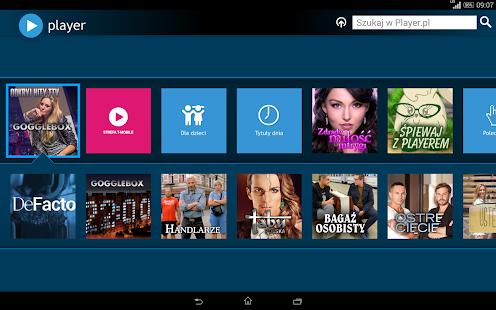 player (tablet) Screenshot 8