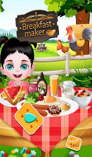 朝食メーカー料理ゲーム