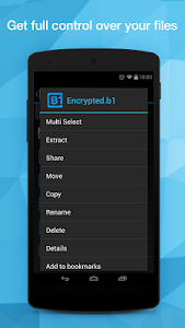 B1 File Manager and Archiver screenshot 0