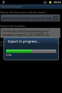 XlContactExport- screenshot thumbnail