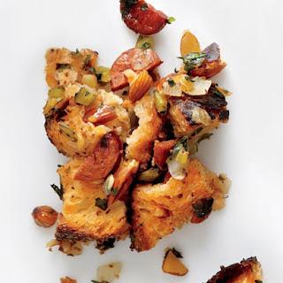 Chorizo-Almond Stuffing