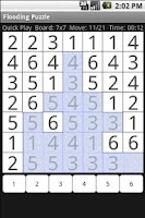 Screenshot of Flood Puzzle