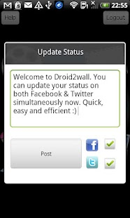 Droid2Wall - screenshot thumbnail