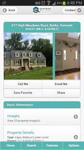 Quatrini Real Estate - screenshot thumbnail