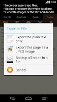 Screenshot of Just Notepad for Android