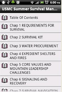 USMC Summer Survival Manual - screenshot thumbnail