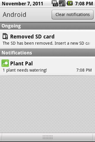 Plant Pal- screenshot