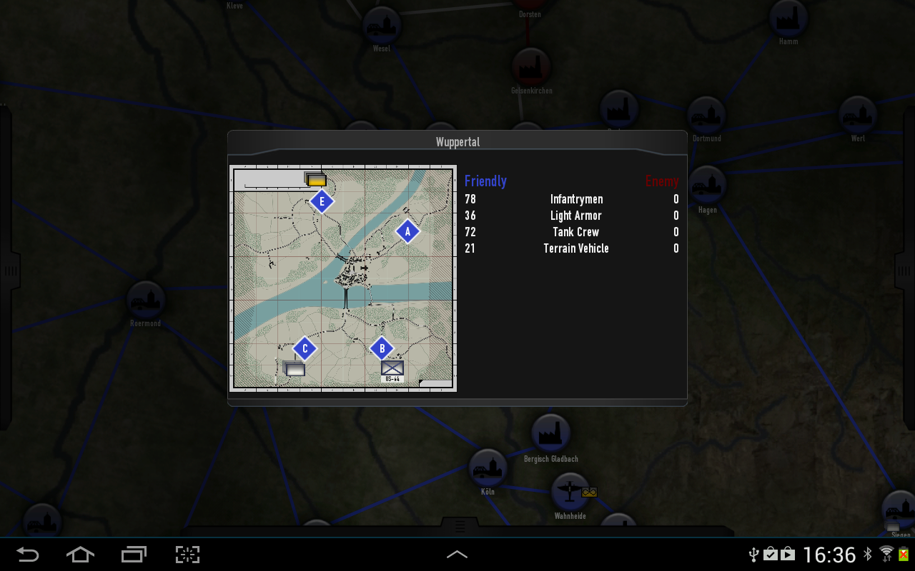 Heroes & Generals: Mobile Cmd - screenshot