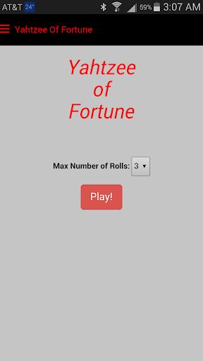 Yahtzee Of Fortune