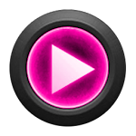 Mad Jelly Pink Poweramp Skin v1.3.1