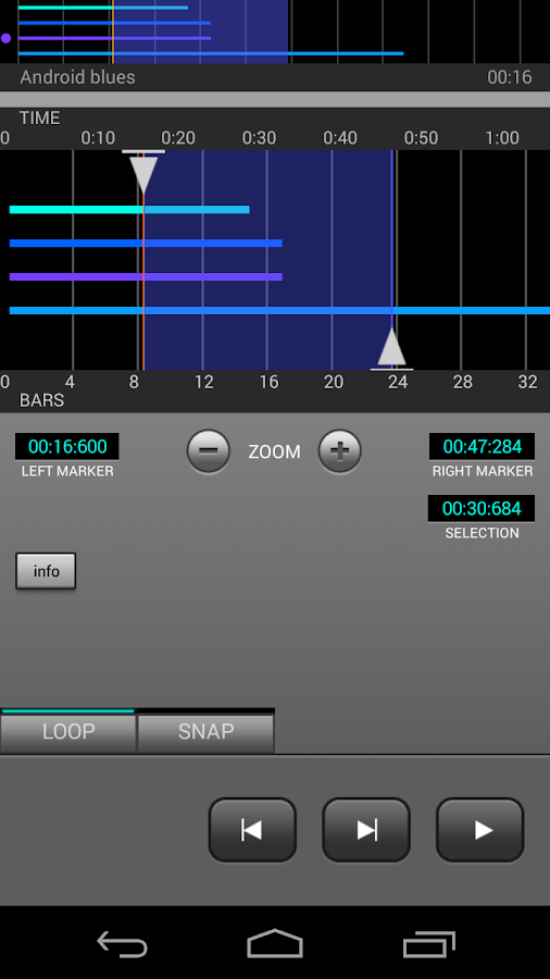 J4T Multitrack Recorder - screenshot