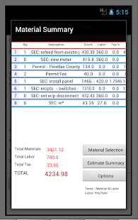 Estimating Simplified- screenshot thumbnail