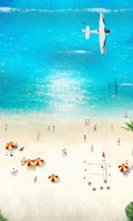 Screenshot of Beach Time LiveWallpaper Free