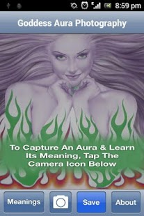 Goddess Aura Photography app