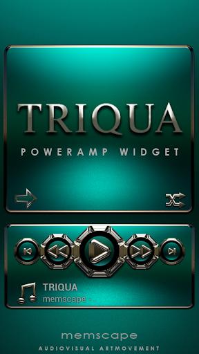 Poweramp Widget TRIQUA