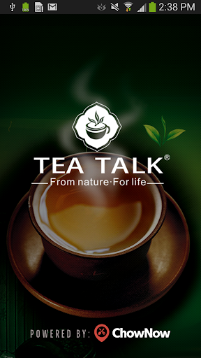 Tea Talk Tea