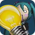 Miku flashlight icon