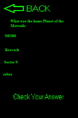Video Game Trivia App