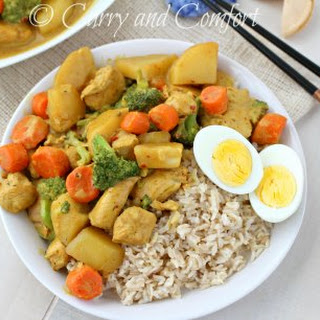Chinese Chicken Curry.