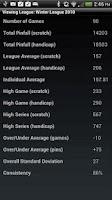 Screenshot of Bowling ScoreKeeper