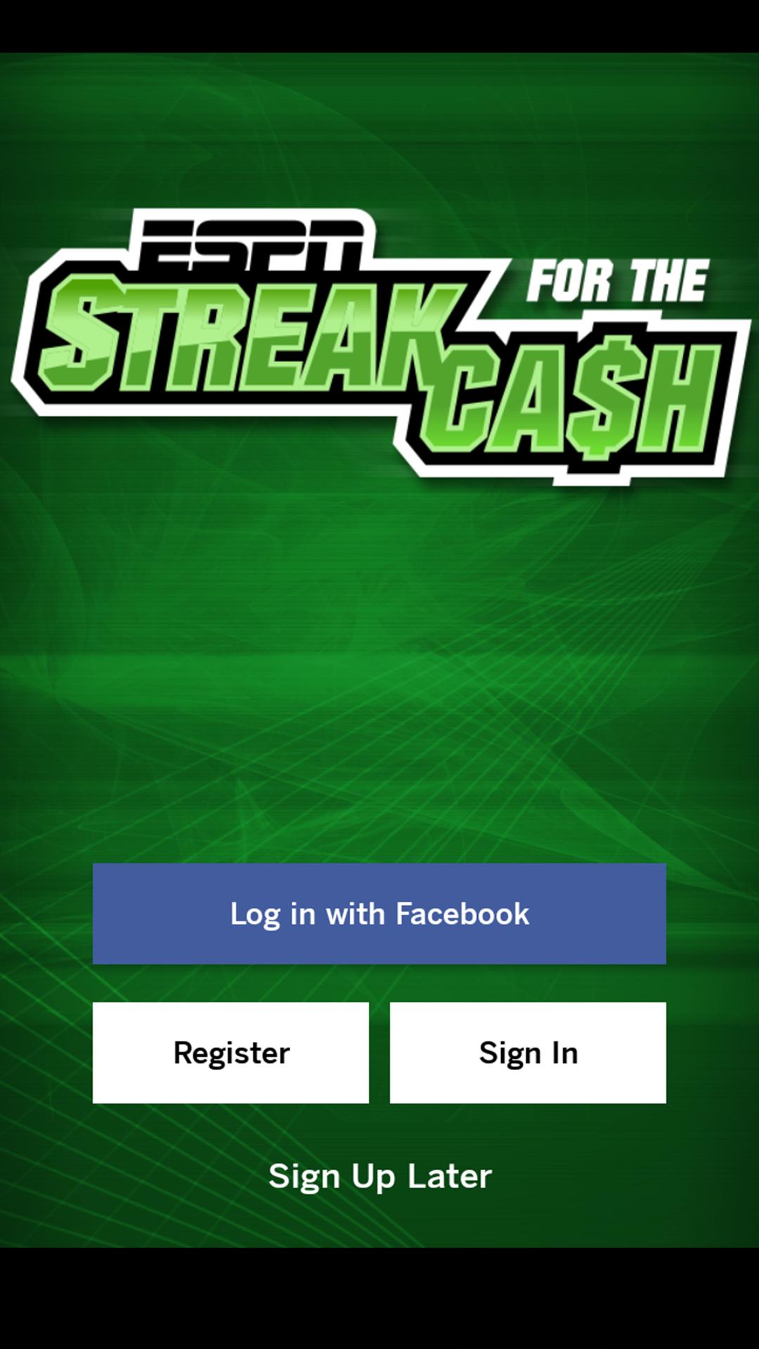 ESPN Streak For The Cash screenshot #1